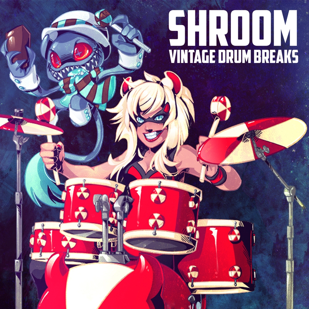 Shroom Vintage Drum Breaks - Artwork Manga (by Jason Warner)